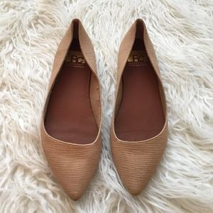 BP by Nordstrom Nude Pointy  Flats
